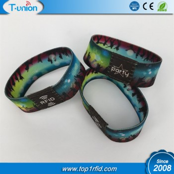 Type 2 Ultralight Chip NFC Stretch Wristband For Concert Ticket