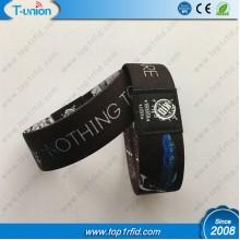 13.56MHZ Ntag213 NFC Event Elastic Wristband