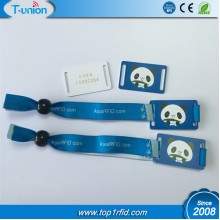 Type 2 Ntag216 NFC Fabric Bracelet With UID  Engraved