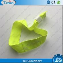 13.56MHZ Ntag213 Satin Ribbon NFC Wristband