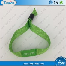 13.56MHZ MF IC 1K F08 RFID Woven Wristband