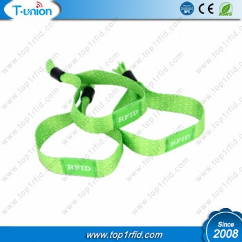 13.56MHZ ISO14443A NTAG213 NFC Event Thermal Wristband