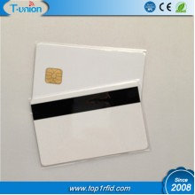 FM4428  Printable Inkjet Contact IC Card With Magstripe