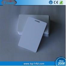 Badge Blank PVC ID Inkjet Card with ID Hole
