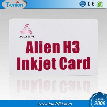 860-960MHZ Alien H3 UHF RFID Inkjet Cards