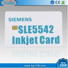 Contact IC Inkjet Printable Card With Sle5542 Chip