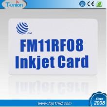 13.56MHZ 1K FM11RF08 RFID Inkjet Cards