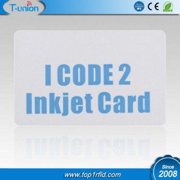 ISO15693 ICODE Sli(X) Inkjet RFID Cards