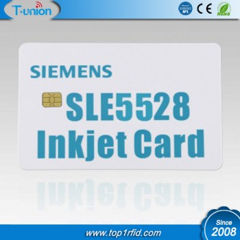 Inkjet Printable IC Card with Sle5528 Chip
