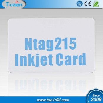 Ntag215 NFC Inkjet Card Cheap