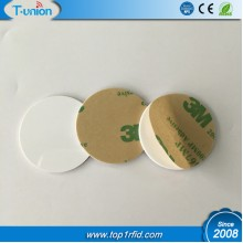 Dia30MM Ntag213 NFC PVC Tag With Adhesive