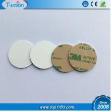 Dia25MM Heat-Resistant Waterproof PET Ntag216 NFC Disc Tag