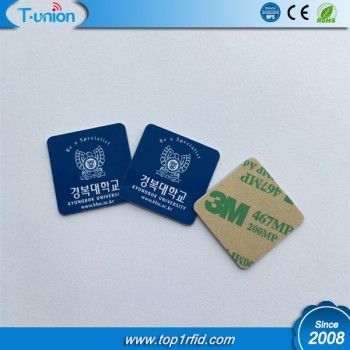 25X25MM Type 2 Ntag215 NFC PVC Tag