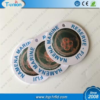 Dia50MM MF DESFire EV1 2K RFID Disc Tag Printed