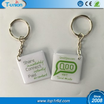 35x35MM 125KHZ TK4100 RFID Epoxy Tag