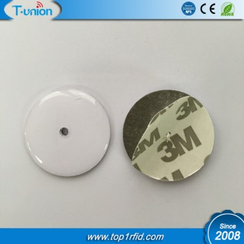 Dia30MM MF Ntag213 Anti-Metal Disc NFC Tag With Epoxy Surface