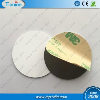 Dia30MM Ultralight C PVC NFC Disc Tag On Metal