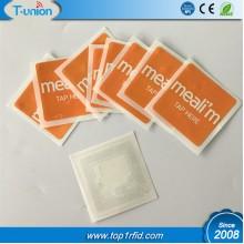 35x35MM 64bytes Ultralight Soft PET NFC Label