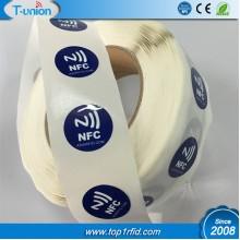 Dia29MM Ntag216 PVC NFC Tag