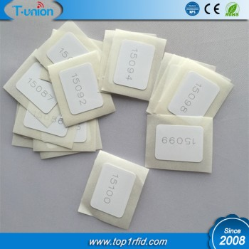 15x20MM Ntag213 NFC Tag with Number Engraved