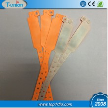 13.56MHZ 1K Compatible F08  RFID PVC Wristband Disposable