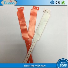 Type 2 Ntag213 NFC PVC Disposable Wristband For Ticket