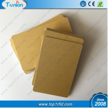 Metallic Gold Blank 1K Compatible FM11RF08 RFID Cards