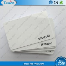 Blank White  Classic 1k S50 RFID Card with UID Printing