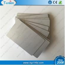 Silver Metallic  Blank 1K Compatible FM11RF08 RFID Cards