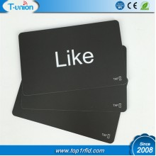 Matte Finished NFC Forum Type 1 Topaz 512 NFC Smart Cards