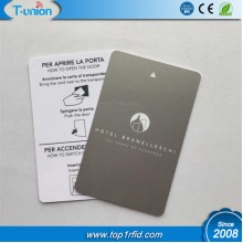 15693 Icode Sli-S 2K RFID Card With Metallic Background