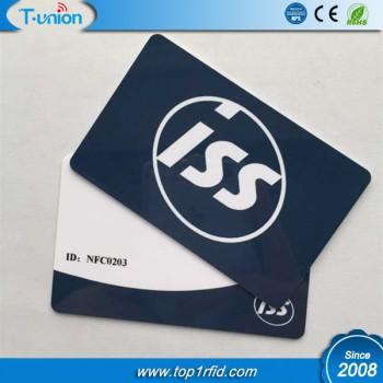 13.56MHZ MF Ultralight C Chip RFID Cards
