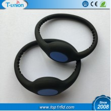 Dia64MM 1K Compatible FM11RF08 RFID NFC Silicon Wristband