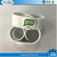 Type 2 NFC Slap Wristband with Logo