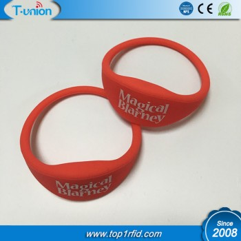Dia61MM Type 2 Ntag213 NFC Silicon Wristband
